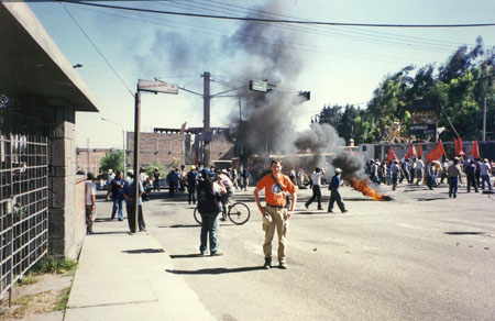 protests in Arequipa