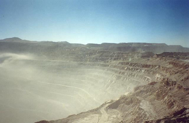 copper mines at Chuqicamata